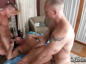 Massage Brody Wilde Threesome with Hunks