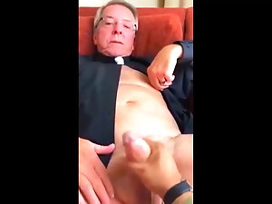 Hot Old Priest Big Cock