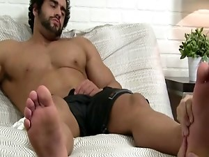 Foot teenage boy gay sex Alpha-Male Atlas Worshiped