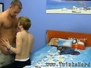 Serbian gay sex movie and boy big as first time Daddy McKline works his nipples while
