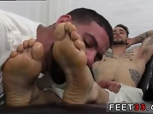 Hairy dad gay sex videos KC s New Foot Sock Slave