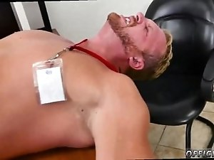 Naked straight men having gay sex xxx First day at work