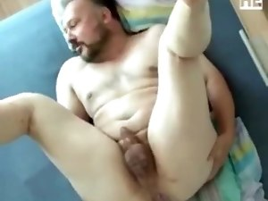 Daddy gets fucked by twink
