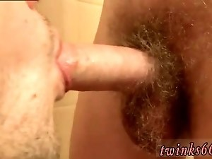 Big muscle man pissing gay guys mouth Welsey Makes A Great Urinal
