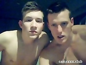 1st Time 2 Cute Handsome Boys Hot BJs & Cum - camsxxx.club