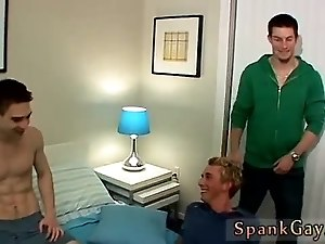 Teen male spankings and gay free video clips Hoyt Gets A Spanking Fuck