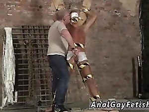Teen boy bondage gallery and gay sexy feet first time Blindfolded