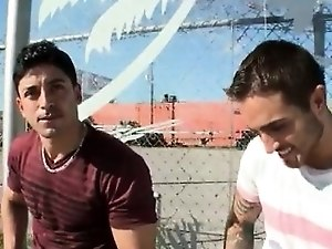 Gay jeans movie outdoor Real red-hot gay public sex
