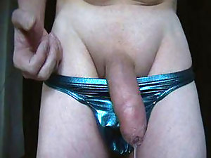 Nipple Clamps a Gentle Handjob and Orgasm